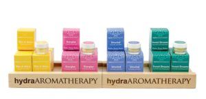 hydraAROMATHERAPY Retail Display