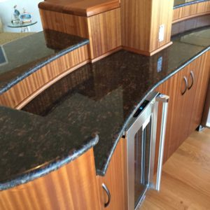 Custom Curved Cabinetry
