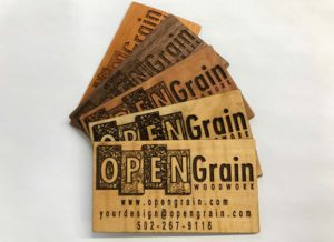 Wooden Business Cards